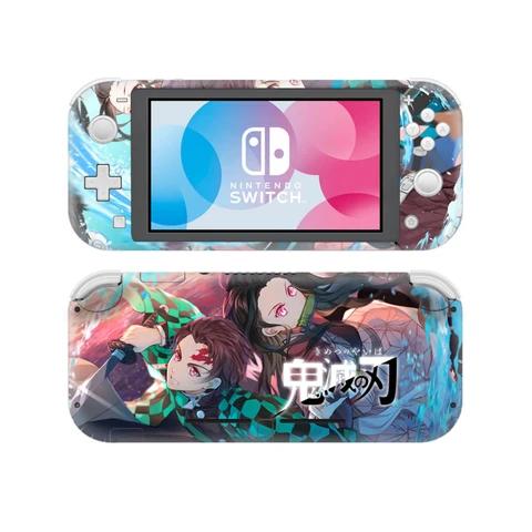 Demon slayer Nintendo switch lite Skin in 2020 Nintendo