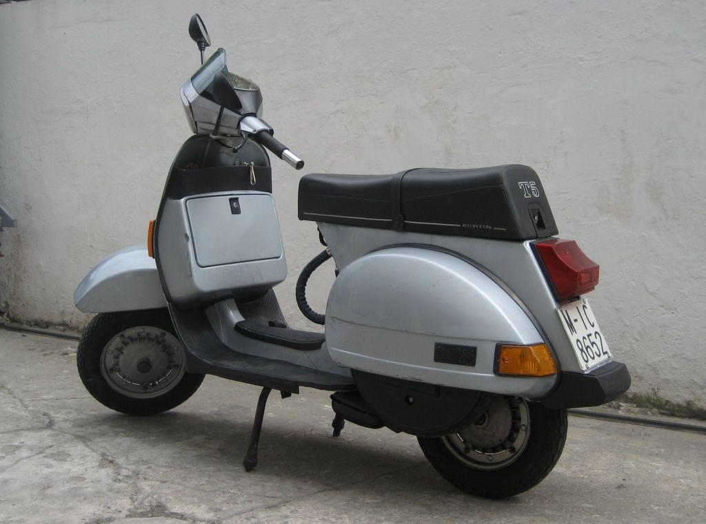 Vespa T5 1985 Eib Vespa