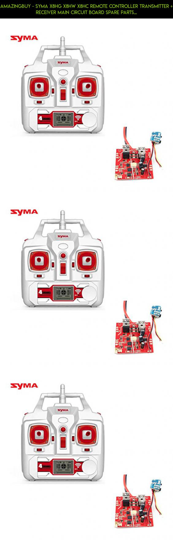 Amazingbuy Syma X8hg X8hw X8hc Remote Controller Transmitter Control Helicopter Circuit Receiver Main Board Spare Parts Replacements Fpv Racing Technology