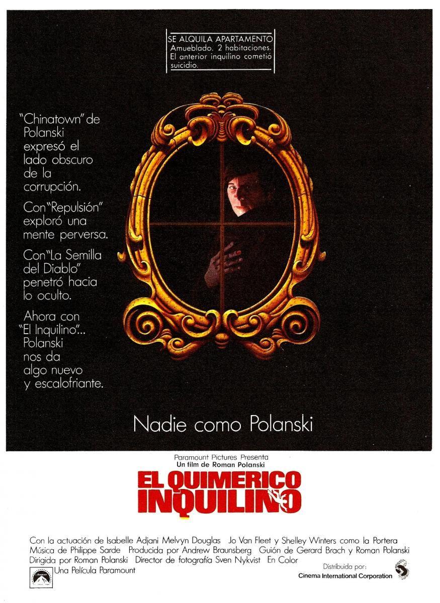 El quimérico inquilino (1976) DVD   clasicofilm / cine online