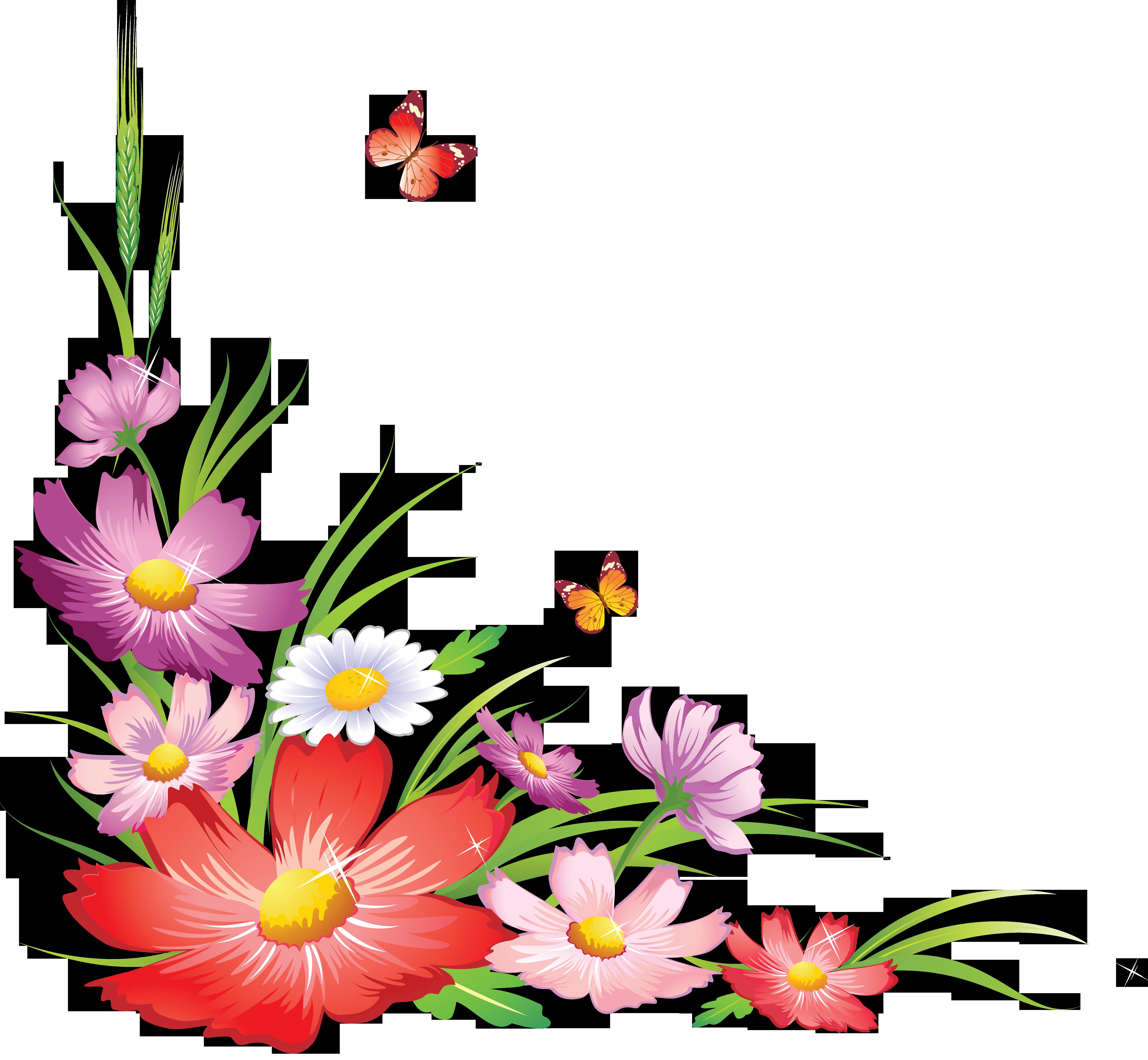 Цветы в углу картинки