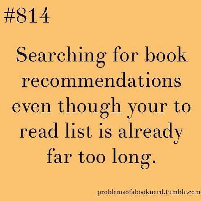 #guilty I have books on my self I still haven't read yet but I still want more! #bookworm
