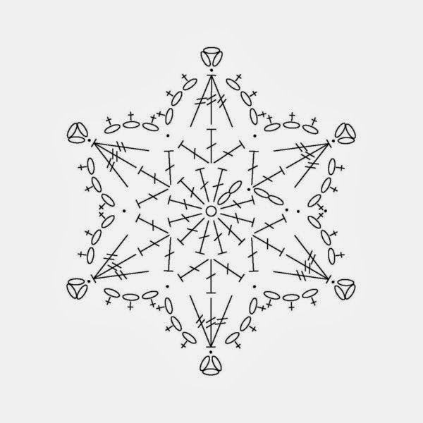 Horgolt Karácsonyi minták (rengeteg hópehely, angyalka, harang, fa ...