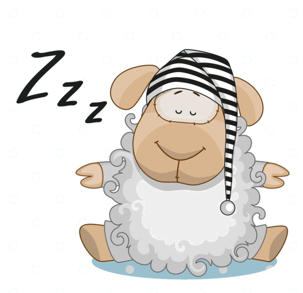 sleeping sheep coloring pages - photo#40