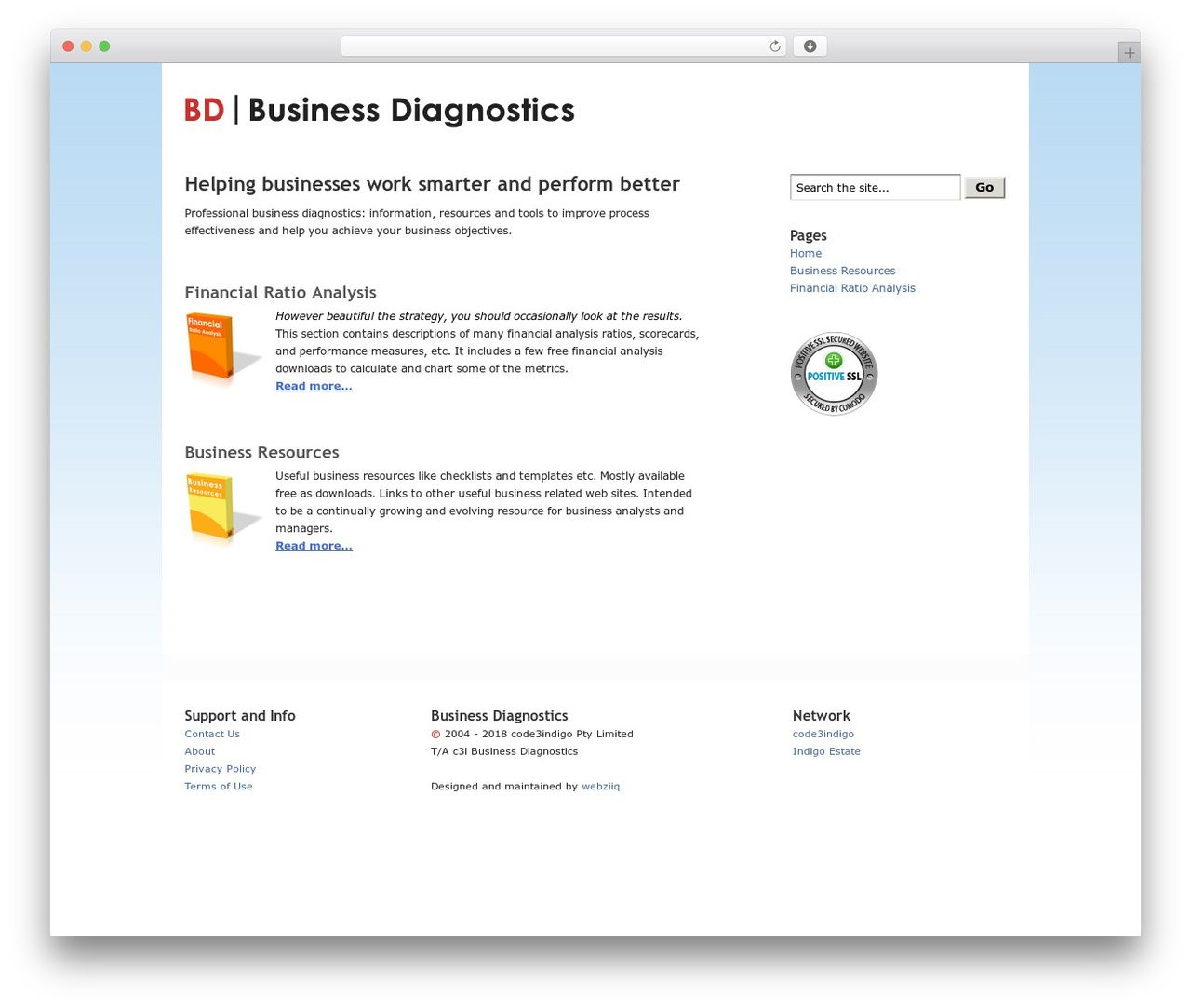 Bd Wordpress Template For Business By Underscores Me