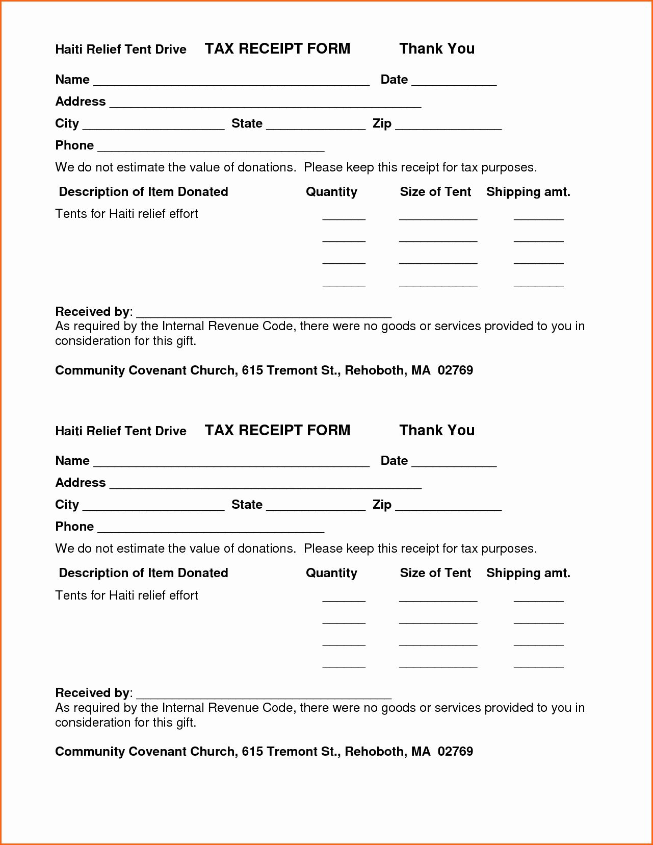 Donation Form For Tax Purposes Lovely 7 Church Donation Receipt Template Bud Template Letter Donation Form Resume Template Business Letter Template