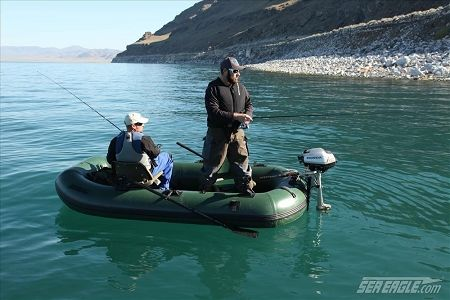 Sea Eagle Stealth Stalker 10 Deluxe Pro Motor Canopy Inflatable Boat Package Inflatable Kayak Boat Inflatable Boat