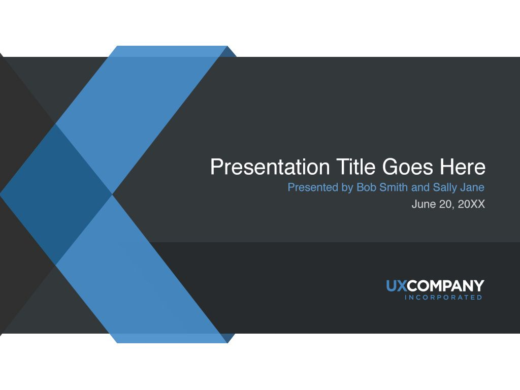 powerpoint cover page template