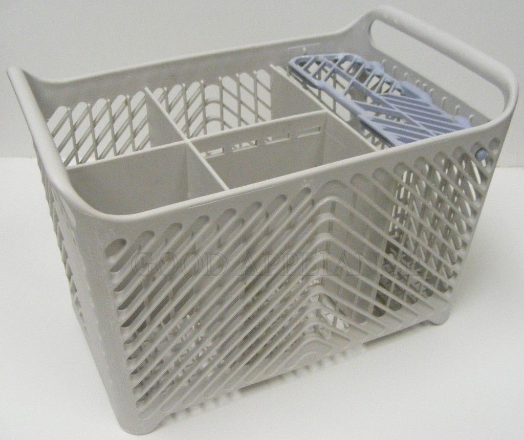 Kitchenaid Dishwasher Silverware Basket To Drain : Gray Blue Kitchenaid  Dishwasher Silverware Basket