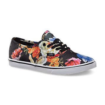 82575a3e8a Authentic Lo Pro Floral - black true white