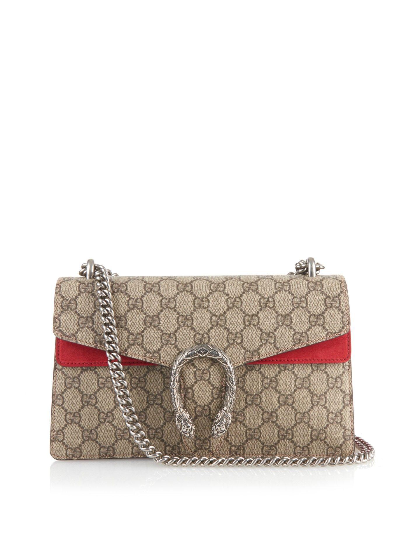 865af200877 Dionysus GG supreme canvas shoulder bag