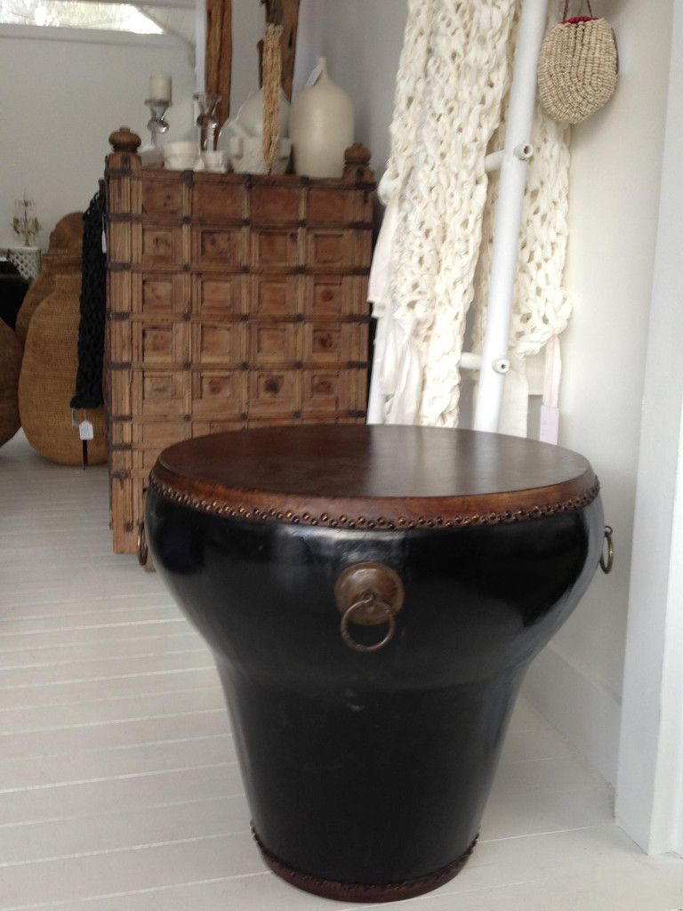 African Drum Coffee Table Traditional Chinese Interiors Traditional Chinese Lacquered Drum