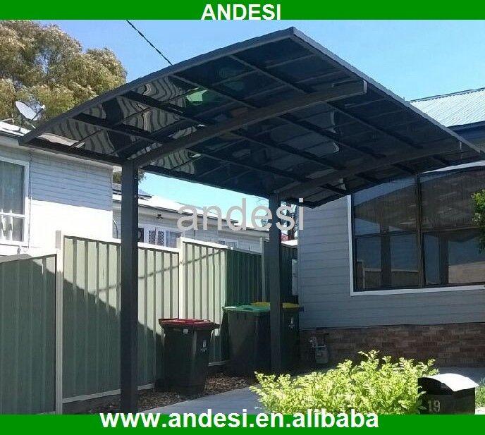 Inspiring Pergola Garage 6 Architectural Design Carport: Aluminum Sun Shade Structures Aluminum Alloy