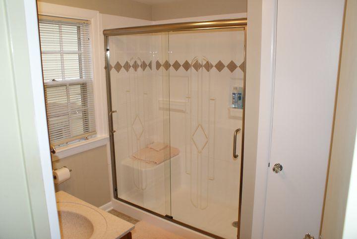 Fiberglass Shower Units | ... shower enclosure this is a standard ...