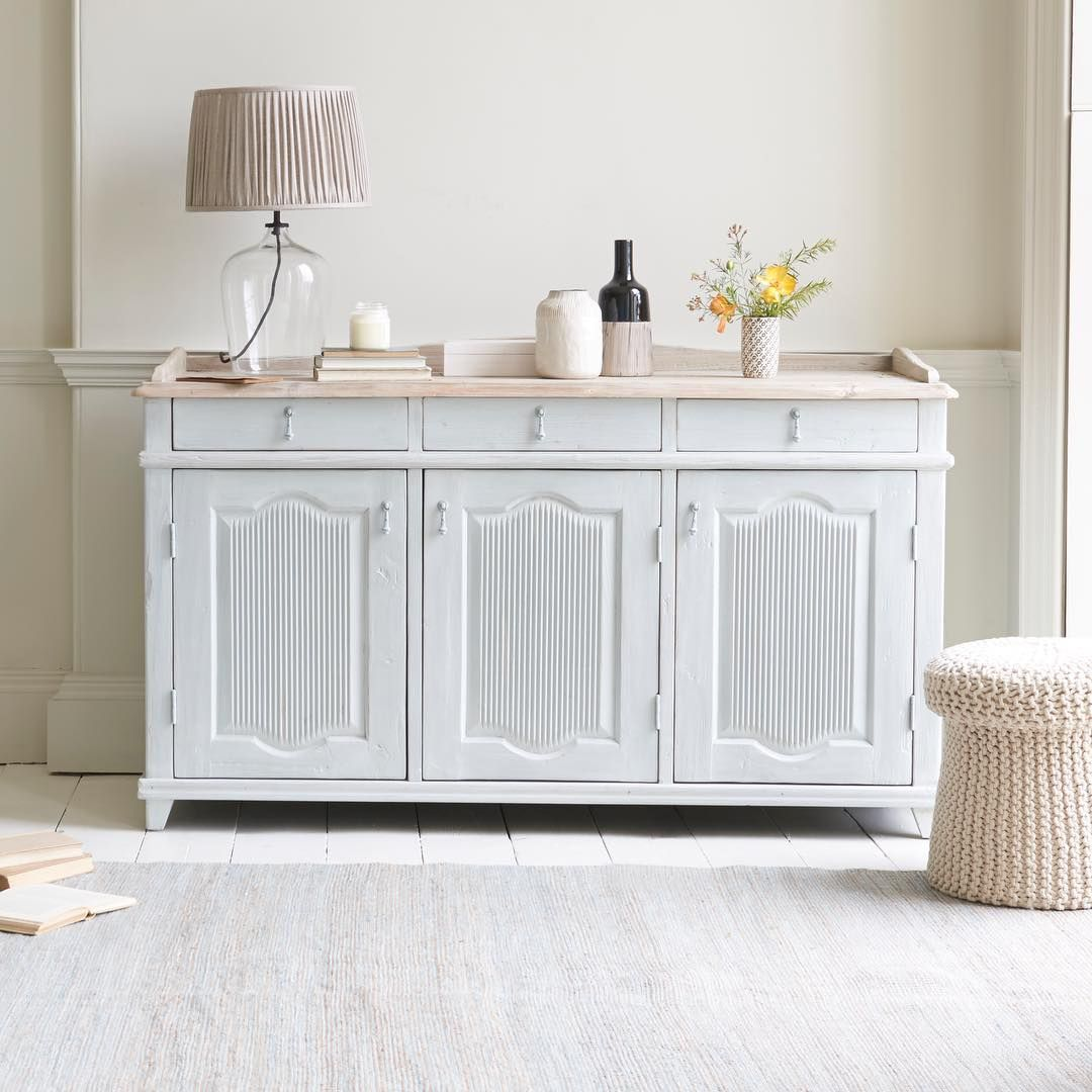 Our Grand Teardrop is a chalky grey stunner that works a treat in the kitchen, dining room and bathroom (or just about anywhere else, come to think of it). #furniture #sideboard #storage #kitchen #bathroom #livingroom #interiors #dining #interiordesign #homedecor #decor #inspiration