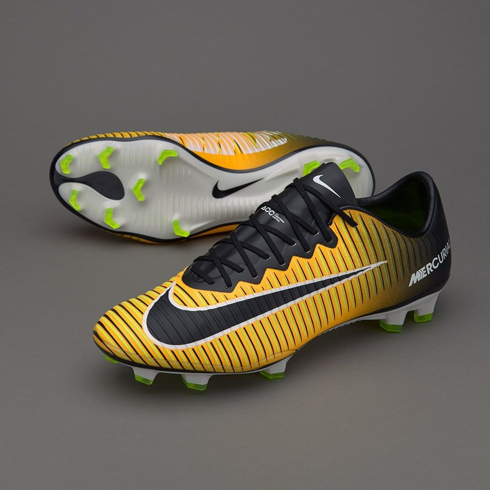 6be53b0a7 Nike Mercurial Vapor XI FG - Mens Boots - Firm Ground - 831958-801 - Laser  Orange/Black/White/Volt