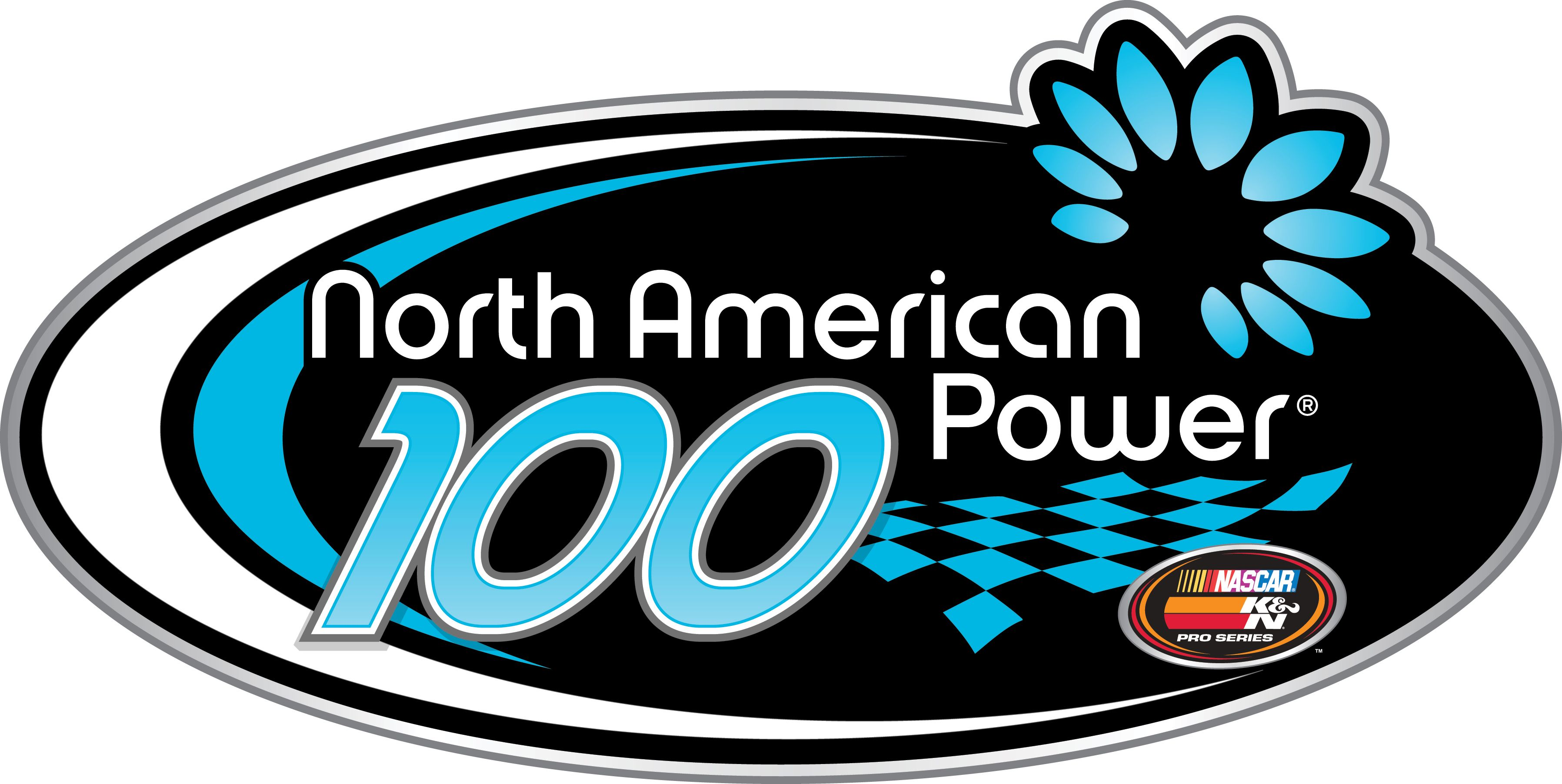 Watching the NASCAR K&N Pro Series East North American Power 100, from New Hampshire Motor Speedway in Loudon.