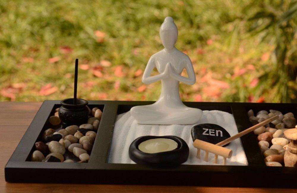 Handmade Desktop Buddhist Zen Garden Meditation Pinterest Zen - decoracion zen