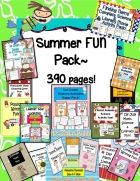 Summer FUN Pack {390 Pages!} - Engaging Lessons | CurrClick