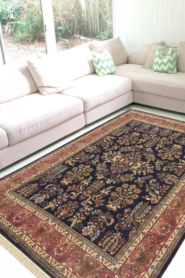Buy Jhoomar Motif Hand Knotted Wool Rug On Sale At Rugs And Beyond