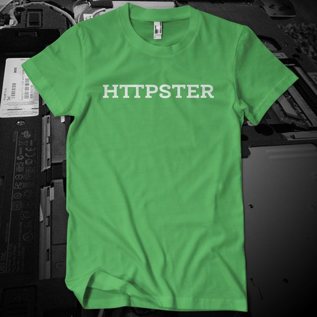 HTTPSTER Tee, Laughing Squid Edition