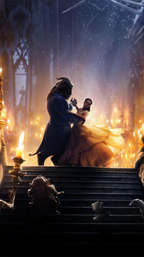 Beauty And The Beast Iphone Wallpapers Disney Beauty The