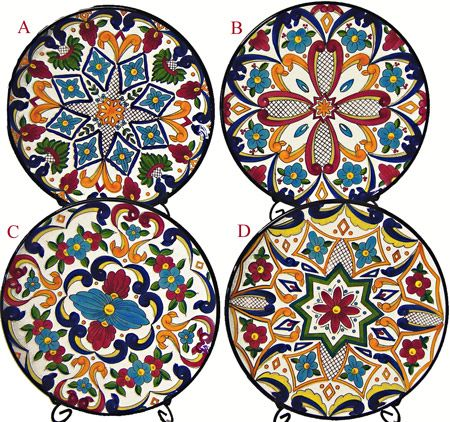 Multicolored Spanish Plate from Manises  sc 1 st  Pinterest & Gorgeous! Love the colors - canu0027t wait to start a collection at some ...