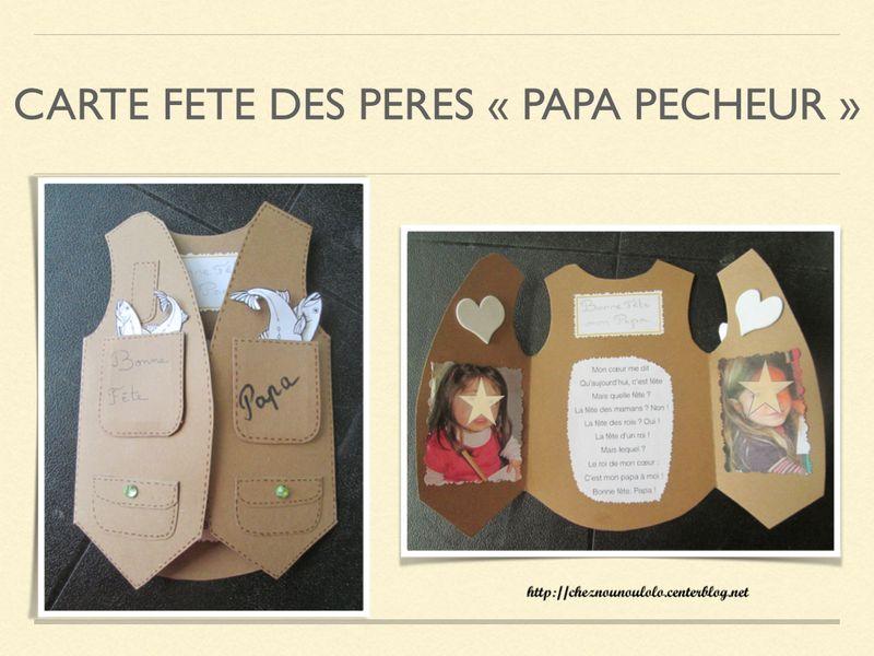 Carte Papa Pecheur Cartes Fete Des Peres Fete Des Peres