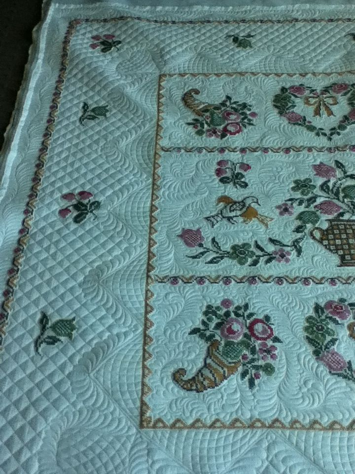 great cross hatching and border treatment.