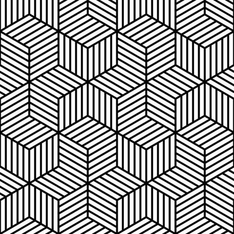 From a book or print black and white pattern design optical art lined