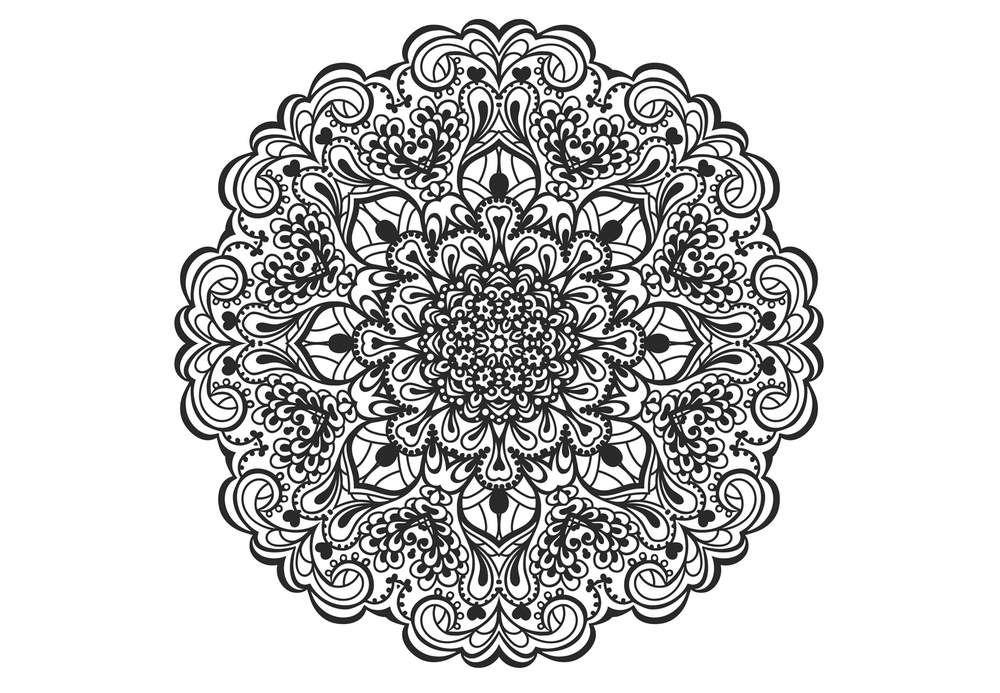 Coloriage anti stress et mandala gratuits pour adulte art pinterest coloriage coloriage - Coloriage adulte mandala ...