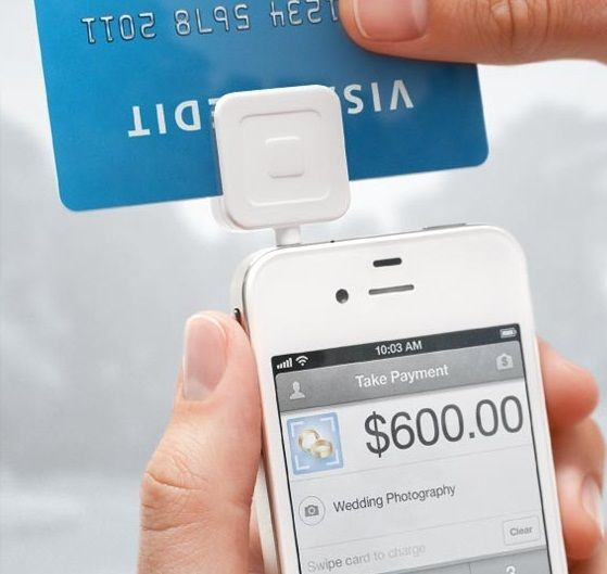Square Reader Small Mobile Credit Card Accepts Payments Phone