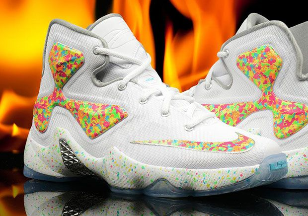 finest selection 3b5a8 bda43 LeBron s love for cereal, particularly Fruity Pebbles, runs deep. It was  the inspiration behind one of the best Nike LeBrons of all-time, and even  made a ...