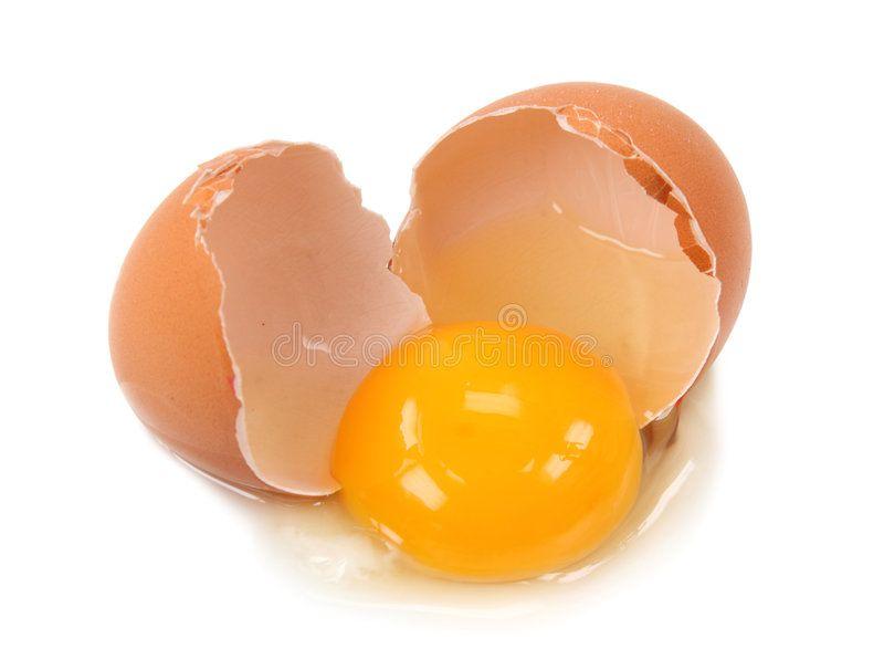 Broken Egg Isolated On White Background Sponsored Egg Broken Isolated Background White Ad Broken Egg Eggs Stock Images Free