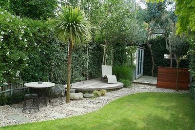 exteriores y jardines modernos