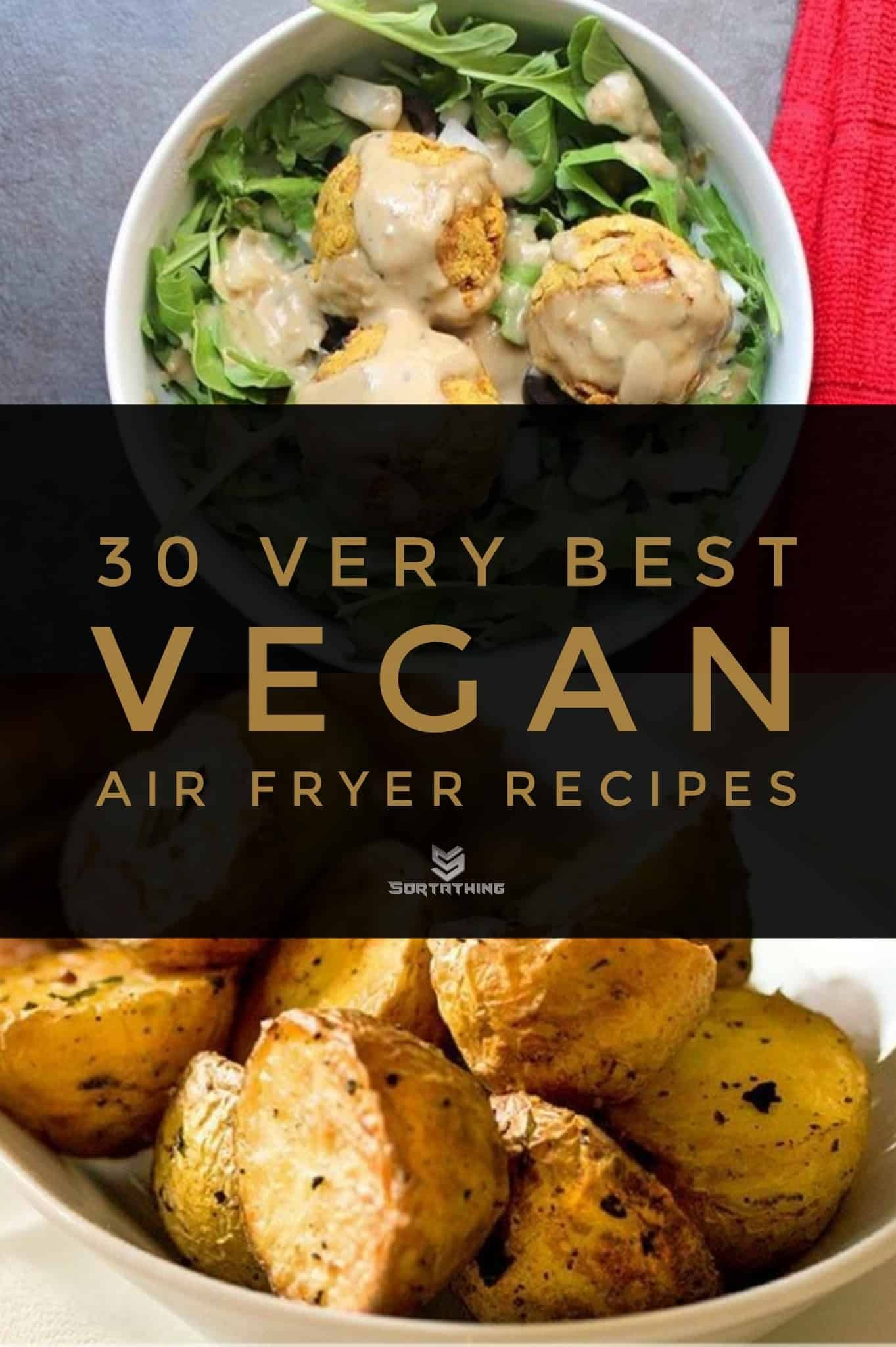 30 Very Best Vegan Air Fryer Recipes For 2020 Sortathing