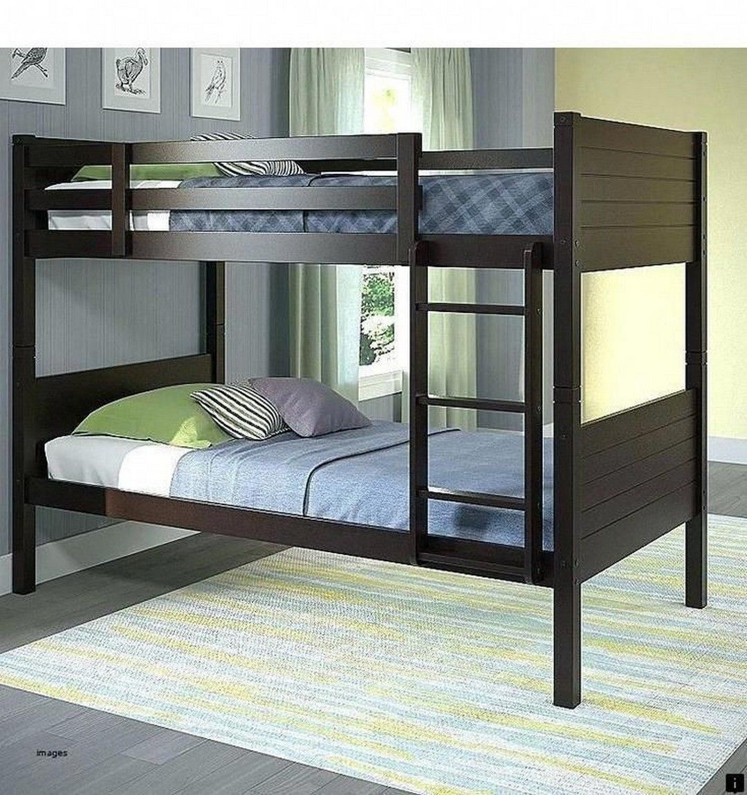 63 Awesome Double Bed Idea Bunk bed with trundle, Bed