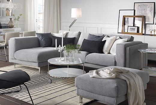 Ikea Us Furniture And Home Furnishings Ikea Living Room Ikea Nockeby Sofa Ikea Sofa