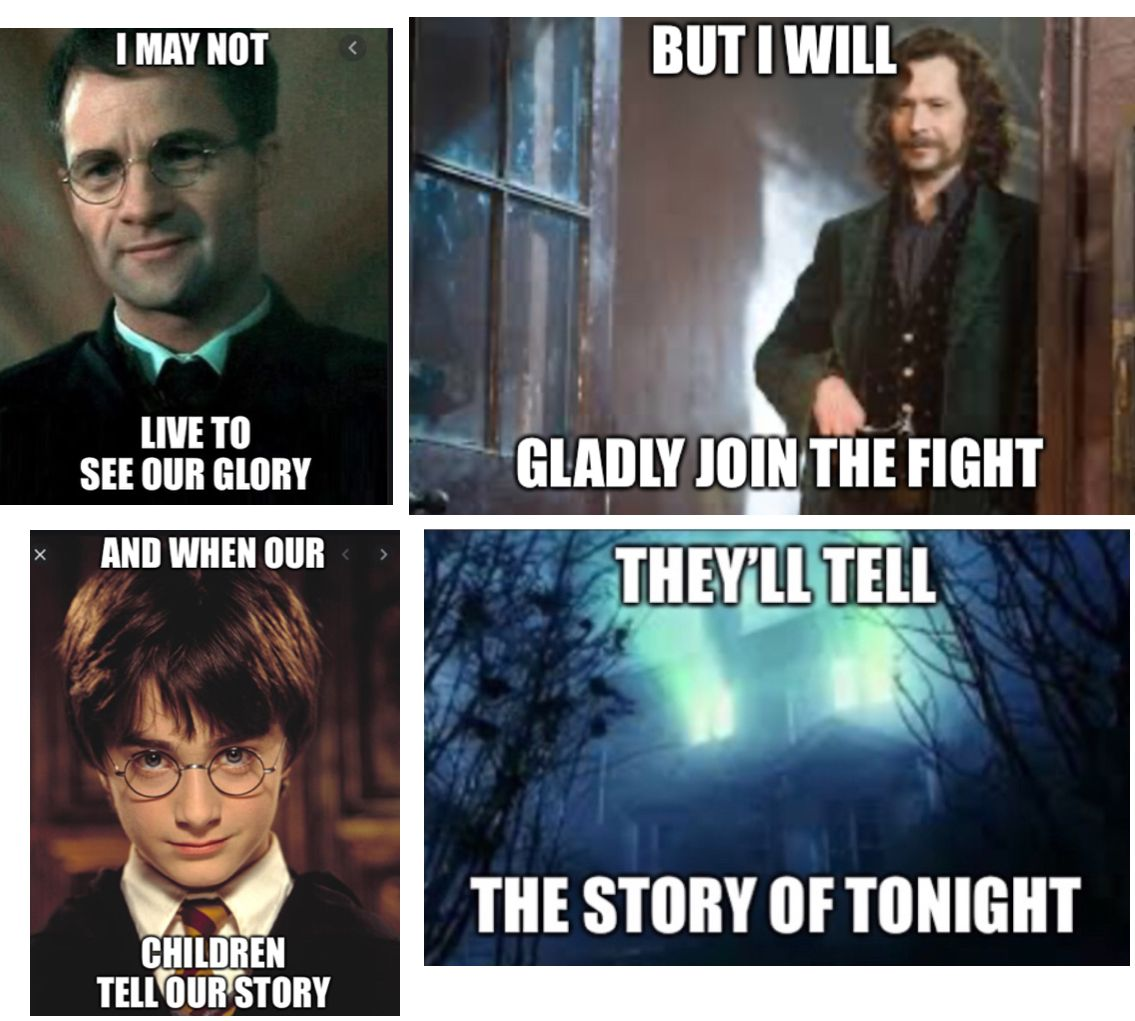 Harry Potter Meme With A Quote From Hamilton Harry Potter Feels Harry Potter Harry Potter Memes