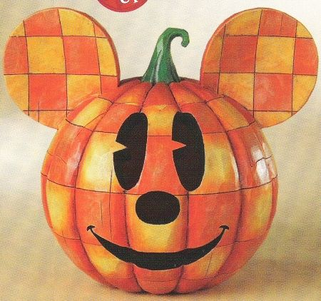 I really want to find one of these! Mickey Mouse Jack o' Lantern