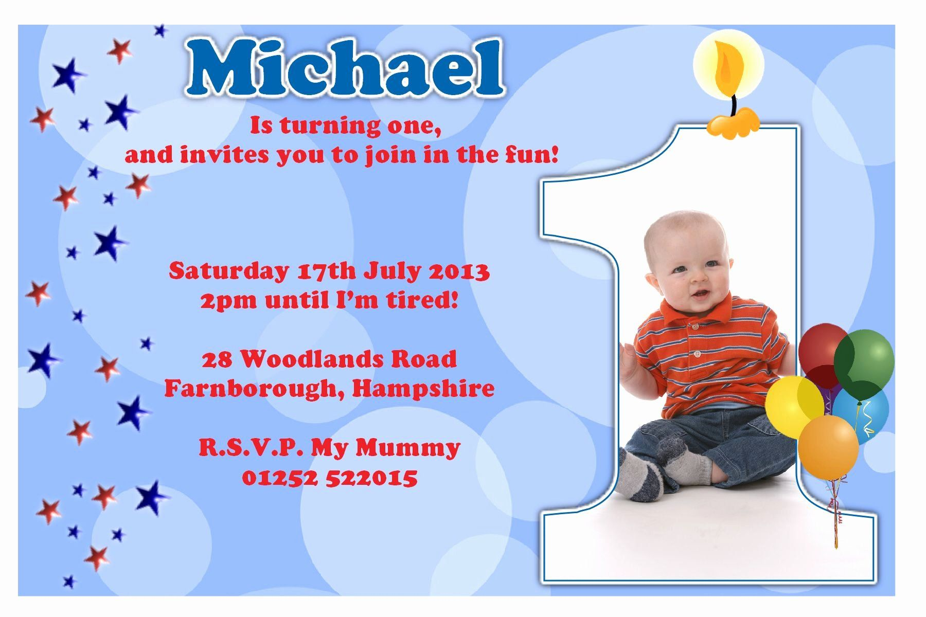 Pin on Kids Birthday Invitation Templates Example