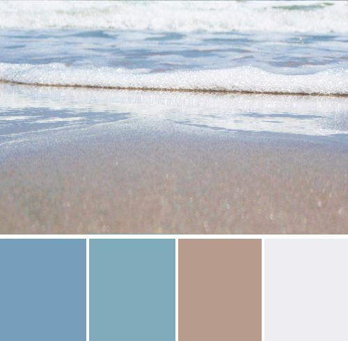 Another ocean color pallet colors that work well - Interior paint colors that go together ...