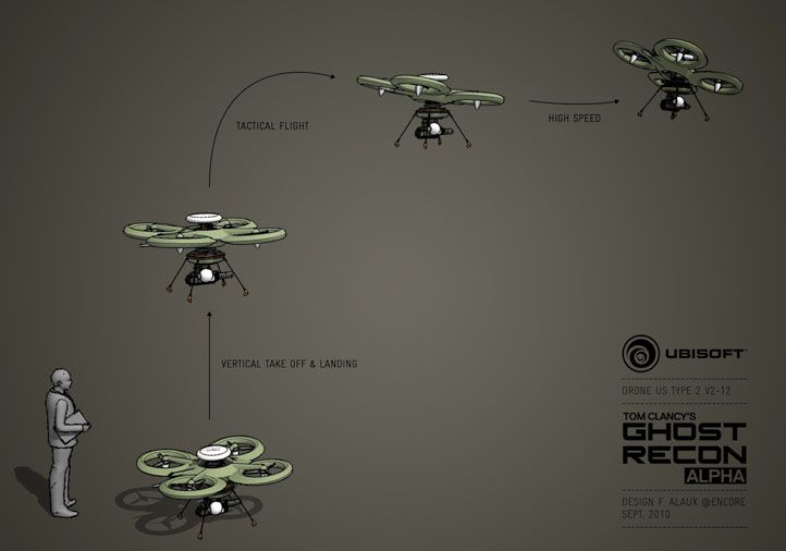 Ghost Recon Alpha Quadrocopter Drone Drone Design Remote