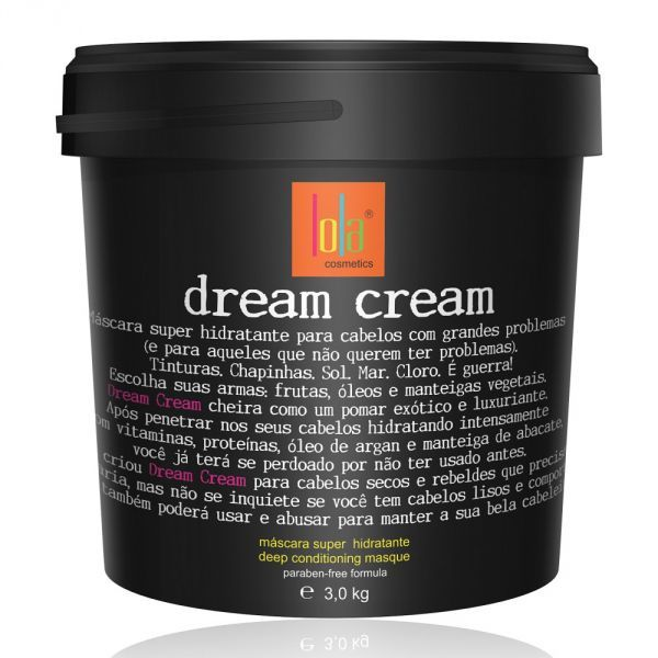 Máscara Lola Dream Cream Super Hidratante 3kg