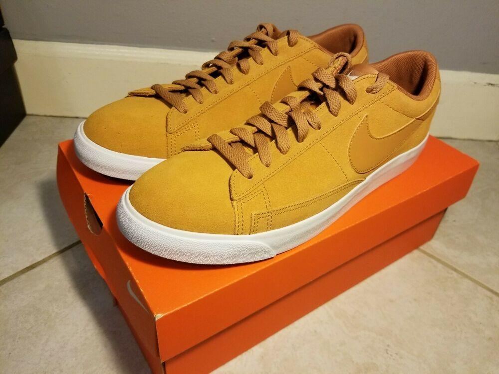 promo code 0cff2 3b5b5 Men s Nike Blazer Low Suede Shoes Desert Ochre Sail Brown Size 9.5 AJ9516  700  fashion  clothing  shoes  accessories  mensshoes  athleticshoes (ebay  link)