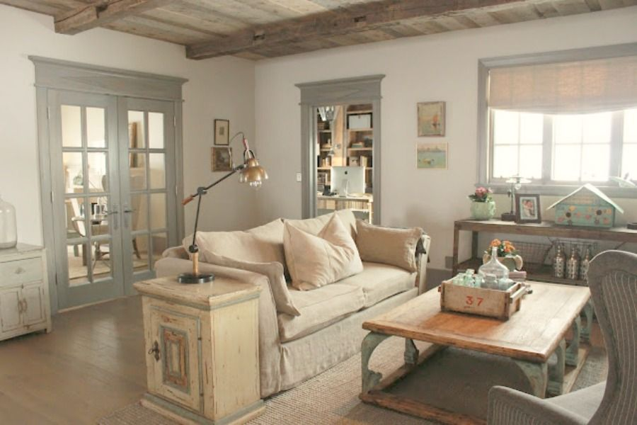 Decorating Ideas With Blue Green French Country Inspiration Decor De Provence Hello Lovely Farmhouse Decor Living Room Country House Decor Country Living Room