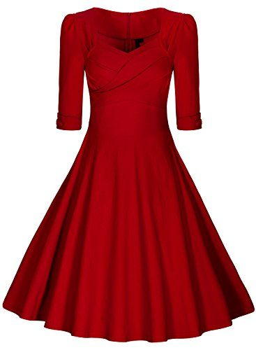 Pin von birgit rudolf auf n hen kleider rotes kleid und abendkleid - Rotes kleid amazon ...