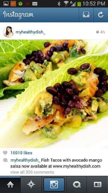 fish tacos myhealthdish  healthy snacks recipes