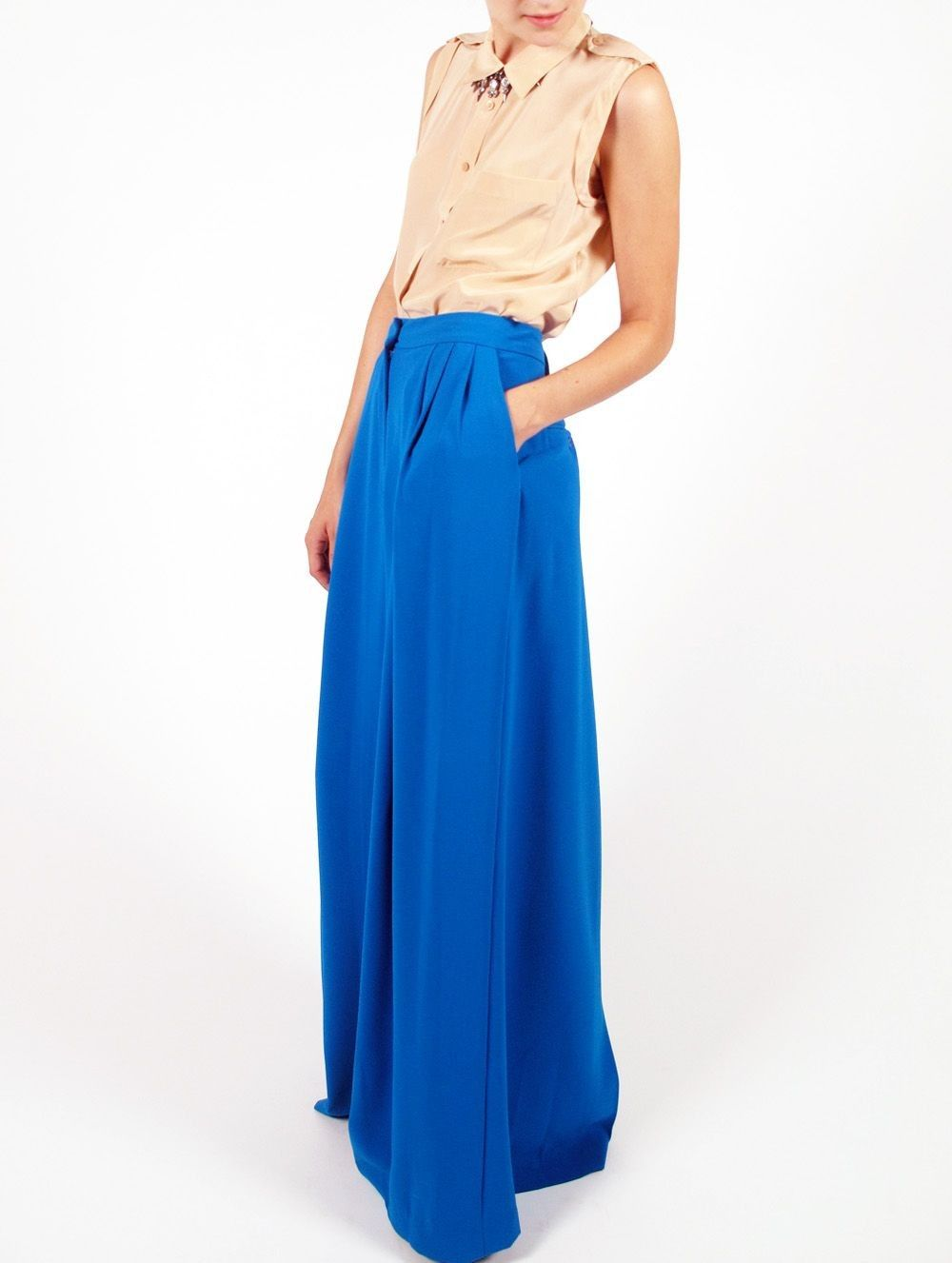 Gaudenzia long skirt by malene birger maxi skirt feminie