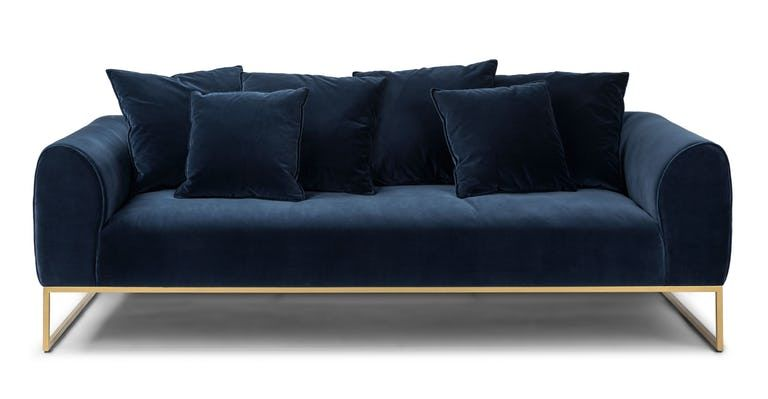 In 2019 Velvet Sofa Green Sofa Sofa